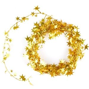 Other - 45ft Gold Star Tinsel Garland